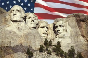 President's Day Mouth Rushmore