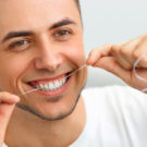 Flossing Dental Health